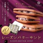 レーズンバターサンド 10個入 (冷)ホワイトデー お菓子 ギフト 焼き菓子 詰め合わせ 退職 誕生日 内祝い レーズンサンド