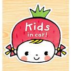 キッズインカー kids in carマグネットステッカー(リボンのいちごちゃん)
