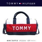TOMMY HILFIGER【トミーヒルフィガー】 『MINI DUFFLE』6922644-409(PEACOAT) 2WAYミニボストンバッグ【返品不可商品】【ラッピング不可商品】