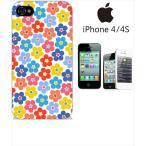 ショッピングiphone4s iphone4s iPhone4s iPhone 4s ケース ハードケース カバー ジャケット ca1067-6 花柄 Flower