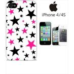 ショッピングiphone4s iphone4s iPhone4s iPhone 4s ケース ハードケース カバー ジャケット ca1308-1 スター 星柄
