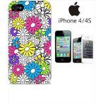 ショッピングiphone4s iphone4s iPhone4s iPhone 4s ケース ハードケース カバー ジャケット ca1315-7 花柄 Flower