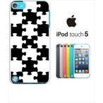 ipod touch 5 iPodTouch5 アイポッドタッチ5 ケース ハードケース カバー ジャケット パズル チェック a007-sslink