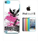 ipod touch 5 iPodTouch5 アイポッドタッチ5 ケース ハードケース カバー ジャケット ca1322-1 鷲 ロゴ COOL