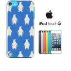 ipod touch 5 iPodTouch5 アイポッドタッチ5 ケース ハードケース カバー ジャケット アニマル ペンギン シルエット-sslink
