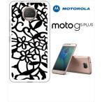 Moto G5s Plus Motorola モトローラ ホワイトハードケース カバー ジャケット 模様 y225-sslink