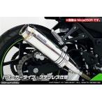 WirusWin ニンジャ Ninja250(EX250L)・Z250(ER250C) スリップオンマフラー バズーカータイプ /ウイルズウィン