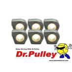 Dr.Pulley ドクタープーリー 20×12 ヤマハサイズ ニュータイプ変形型 ウェイトローラー 6個セット YAMAHA