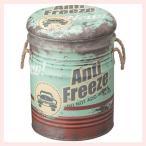 アンティーク調なペール缶スツール(D)4Pセット