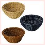 『PP』耐熱・食洗機対応の丸タイプ小物バスケット「15.5×6cm」2Pセット/3種類