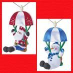 Yahoo!セレクトショップ hana Yahoo!店『クリスマス』音センサー式うきうきパラシュート(ロープウェイ)のおもちゃ/2種類