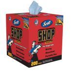 SCOTT ショップタオル ブルーBOX 紙ウエス 洗車 タオル 洗車用品 スコット  吸水タオル