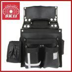 SK11 腰袋 工具差し 釘袋 墨つぼ差し付き プロ仕様大工道具 SCL-9 ベルト通し付き