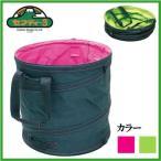 セフティ3 折りたたみ ガーデニング バッグ バケツ 簡易ゴミ箱 工具バッグ 65L EGB-18G [グリーン,ピンク]
