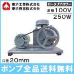 東浜 浄化槽 ロータリー ブロワー ブロアー エアーポンプ SD-200S 単相100V250Wモーター付き/吐出量200L