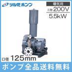 ツルミポンプ ルーツブロワー RSR-125 5.5kw 三相200V[浄化槽 ブロアー エアーポンプ エアポンプ]