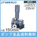 ツルミポンプ ルーツブロワー RSR-150 22kw 三相200V[浄化槽 ブロアー エアーポンプ エアポンプ]