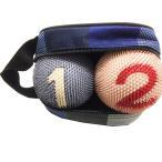 ゲートボール ニチヨー まんまりも 特別色 バック入りボール 2個セット 練習用に最適!