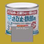 アトムハウスペイント 水性さび止め塗料 水性さび止め・鉄部用  色:ライトグレー 200ml