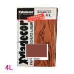 キシラデコール 屋外用 油性 高性能木部保護塗料 色:#107 マホガニ 4L