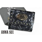 アナスイ ANNA SUI ハリー 二つ折り がま口 ブランド 財布
