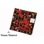 ヴィヴィアン ウエストウッド ハンカチ レディース 1枚 ブランド Vivienne Westwood ブラック 黒 レッド 赤 フラワー ハート オーブ 女性 婦人