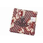 ヴィヴィアン ウエストウッド ハンカチ レディース 1枚 ブランド Vivienne Westwood アイボリー グレー フラワー ロゴ 刺繍 女性 婦人