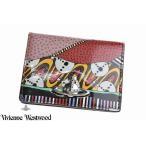 ヴィヴィアン ウエストウッド パスケース レディース Vivienne Westwood 二つ折り テクトニックプレート 赤 レッド 箱無