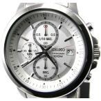 即納可 セイコー クロノグラフ 腕時計 逆輸入 SKS441P1