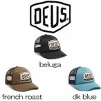 �ǥ����������ޥ��� ����å� Deus Ex Machina Moretown Trucker  beluga / french roast / dk blue ˹�� �� �ɽ� ���åȥ�å� ���ȥ�åץХå�[˹��]