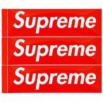 正規品 シュプリーム Supreme Box Logo Sticker 3P PACK SET ボックスロゴ ステッカー 3枚セット シール メンズ レディース ユニセックス 本物