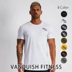 ヴァンキッシュ フィットネス VANQUISH FITNESS ESSENTIAL SP SHORT SLEEVED T-SHIRT 半袖 Tシャツ メンズ 筋トレ ジム ウエア スポーツウェア イギリス 正規品[