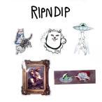 リップンディップ RIPNDIP  Fall 18 Sticker Pack ステッカー 13 シール 5枚セット かわいい ネコ キャット 猫 Rip N Dip スケーター