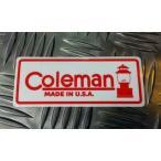 Coleman ステッカー A コールマン ステッカー キャンプ STICKER