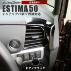 エスティマ 50系 エスティマハイブリッド 20系 (2016年6月- 新型4期対応) ダクトパネル / 内装 カスタム パーツ ESTIMA