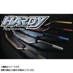 HARDY 汎用 ハンドル関連パーツ MXハンドルバー タイプ2 MIDIUM レッド 送料無料 ハーディ