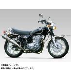 YOSHIMURA JAPAN チタン機械曲サイクロン サイレンサー:TC/FIRESPEC(カーボンカバー) SR400 SR500