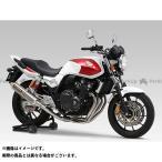 YOSHIMURA JAPAN 機械曲チタンサイクロン サイレンサー:TC/FIRESPEC(カーボンカバー) CB400 SUPER BOL D'…