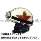 ライズ RIDEZ ハーフヘルメット VANCH VINTAGE HALF HELMET アイボリー/ブラウン