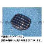 PLEASURE KSR110/KSR-1/KSR-2 ヘッドライトルーバー カラー:レッド KSR-I KSR-II KSR110