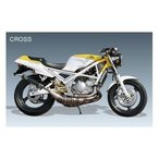 OX RACING R1-Z用 MAGIC FIRE クロスチャンバー(JMCA認定品カーボンサイレンサー) R1-Z