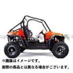 送料無料 ツーブラザーズレーシング ATV・バギー マフラー本体 RZRS800(09-14) フルエキ トリプル/M7 AL