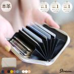 うすいカードケース 小銭入れ コインケース 本革 小さい コンパクト レディース メンズ YKK 5ポケット カーフレザー プレゼント  STREAM