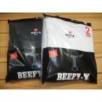 SALE!!送料無料 Hanesヘインズ ビーフィー BEEFY-T 半袖Tシャツ 2枚組 H5180-2
