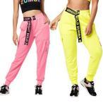 新入荷! ZUMBA ヨガパンツ ズンバウェア トレーニング フィットネス エアロビクス ズボン エアロビクスウェア ランニングウェア 美脚 ダンス衣装 ズボンa-002