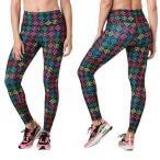 ZUMBA ヨガパンツ ズンバウェア トレーニング フィットネス エアロビクス パンツズボン エアロビクスウェア ランニングウェア 美脚 ダンス衣装 ズボン a-120