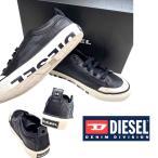 ディーゼル シューズ スニーカー メンズ 靴 ローカット ブラック DIESEL S-ASTICO LOW LOGO BLACK