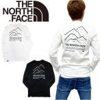 ノースフェイス ロンT ピークス 長袖 ホワイト NF0A5IKN バックロゴ メンズ レディース マウンテン THE NORTH FACE PEAKS TEE