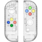 ZOYUBS 任天堂 Nintendo Switch ニンテンドースイッチ Joy-Con カラー置換ケース代わりケース 外殻 Nintendo Sw
