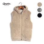 メンズ/Gymphlex/ジムフレックス/フードボアベスト/J-0855PL/2020秋冬